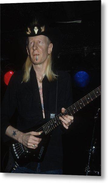 Johnny Winter Metal Print