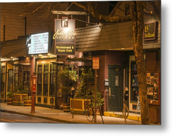Johnny Ds Music Club In Davis Square Somerville Ma Metal Print