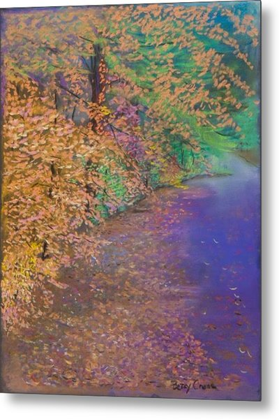 John's Pond In The Fall Metal Print
