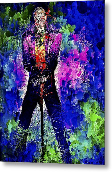 Joker Night Metal Print