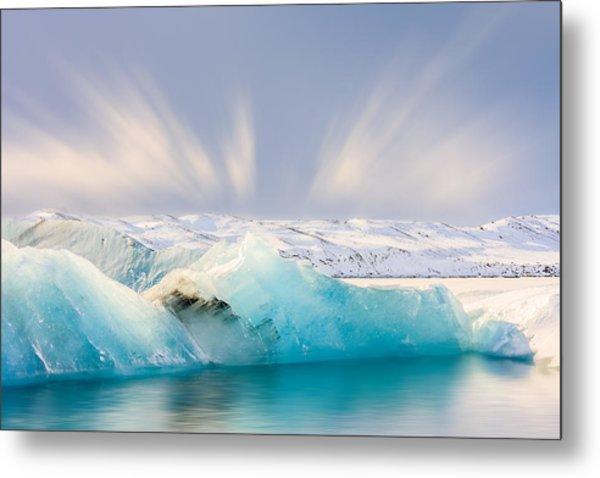 Jokulsarlon Glacier Lagoon Metal Print