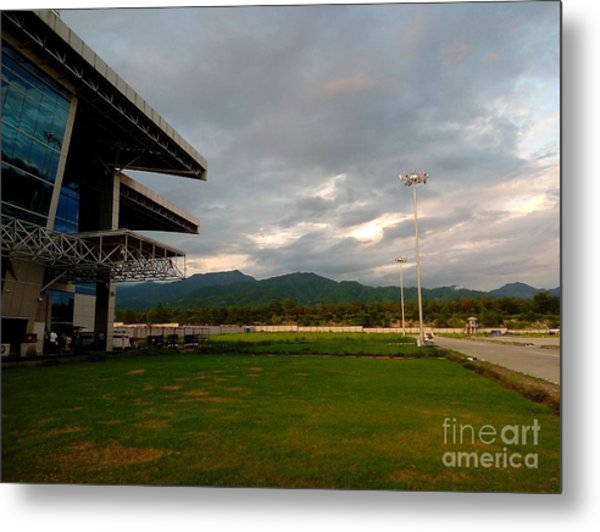 Jolly Grant Airport  Metal Print