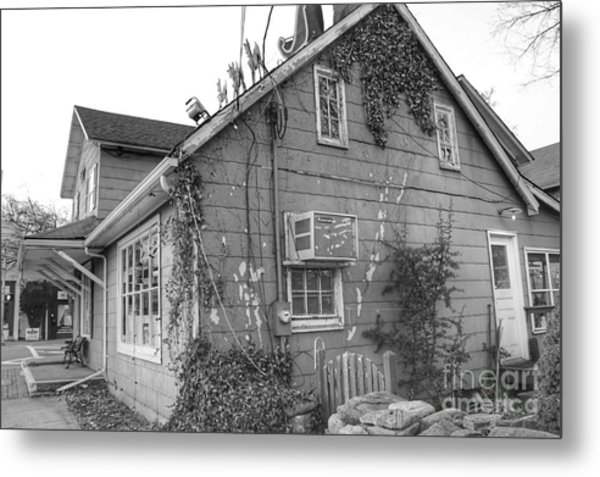 Jones Hardware From Behind, Pequannock Metal Print