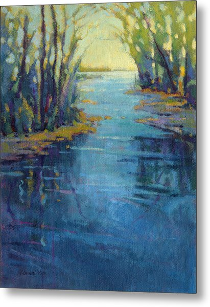 Metal Print featuring the painting Journey Home by Konnie Kim