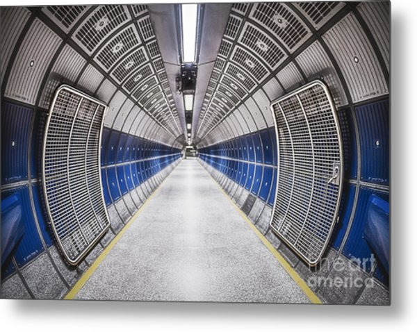 Journey To The Center Of Your Mind Metal Print