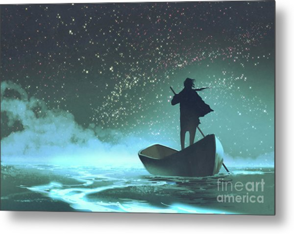 Journey To The New World Metal Print