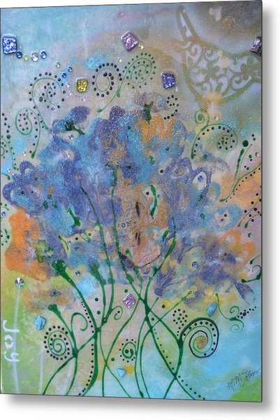 Joy By Mimi Stirn Metal Print