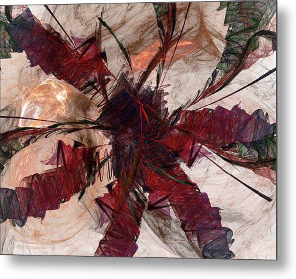 Jpk Digital Abstract 004 Metal Print