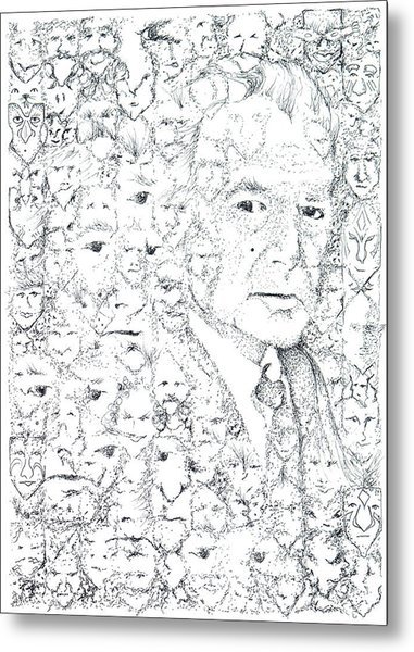 Juan Rulfo Sombra De Arreguin Metal Print