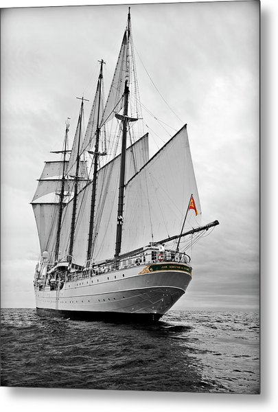 Juan Sebastian De Elcano In Its World Wild Travel Metal Print