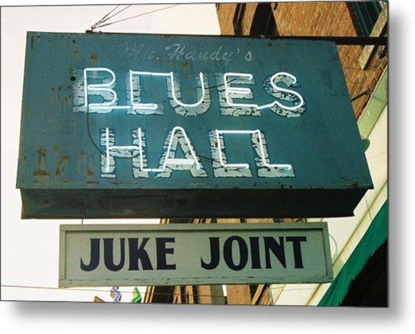 Juke Joint Metal Print