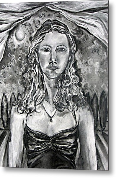 Resolute - Self Portrait Metal Print