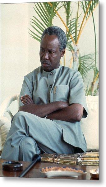 Julius Nyerere Metal Print