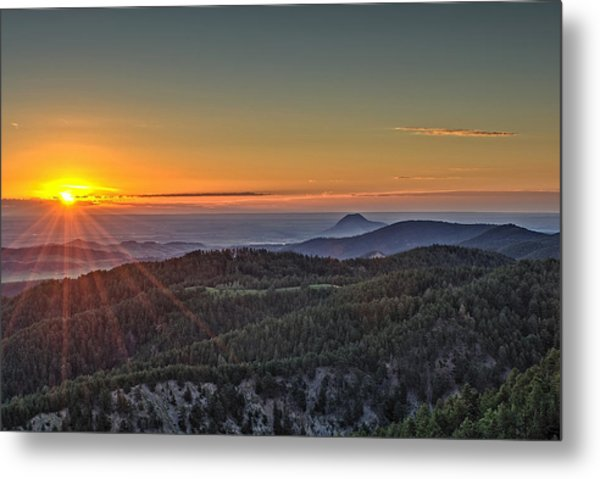 July Sunrise Metal Print