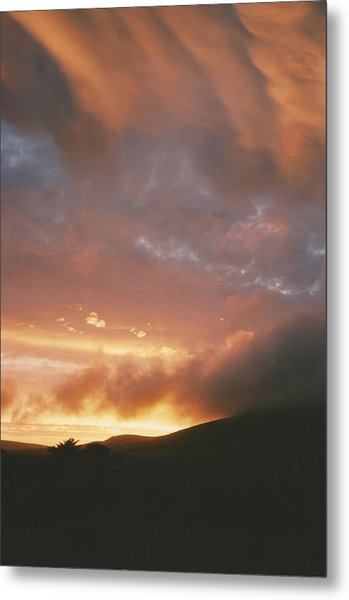 July Sunset Metal Print