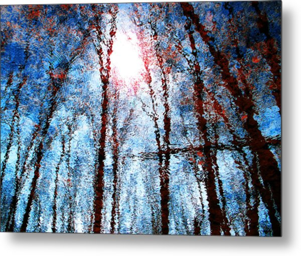 Jumbled Waters Metal Print