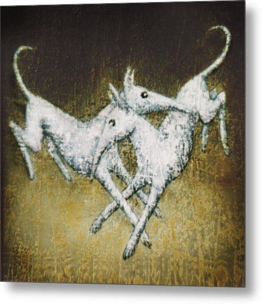 Jumping Of Joy Metal Print by Lolita Bronzini