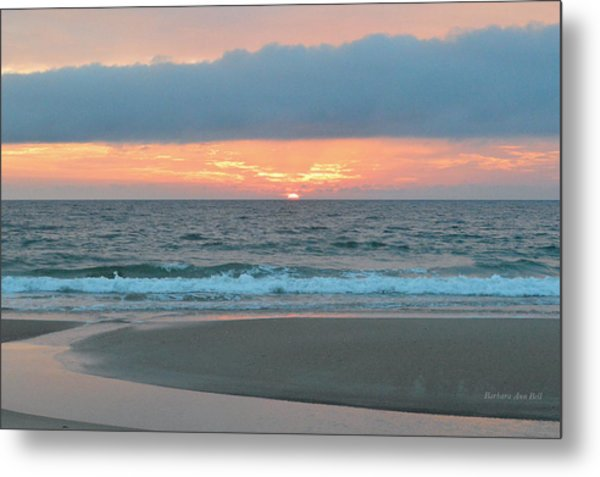 June 20 Nags Head Sunrise Metal Print