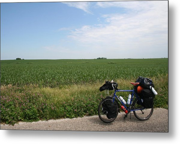 June Field Tourer Metal Print