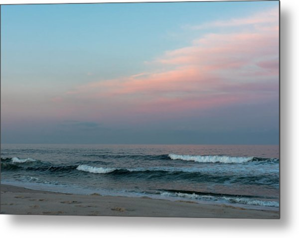 June Sky Seaside New Jersey Metal Print