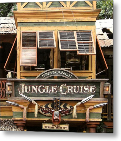 Jungle Cruise - Disneyland Metal Print