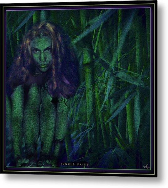 Jungle Fairy Metal Print