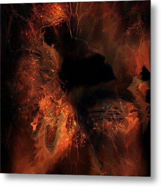 Metal Print featuring the digital art Jupiter Cave by Vadim Epstein