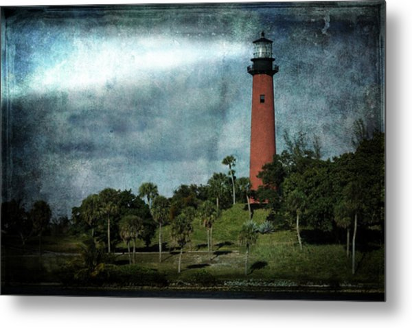 Jupiter Lighthouse-2a Metal Print