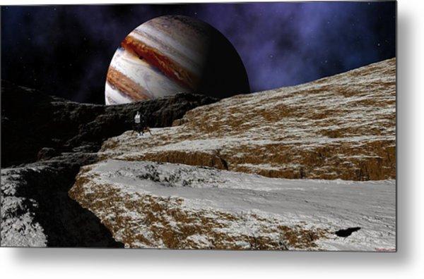 Jupiter Rise Metal Print