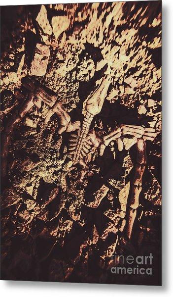 Jurassic Grave Metal Print