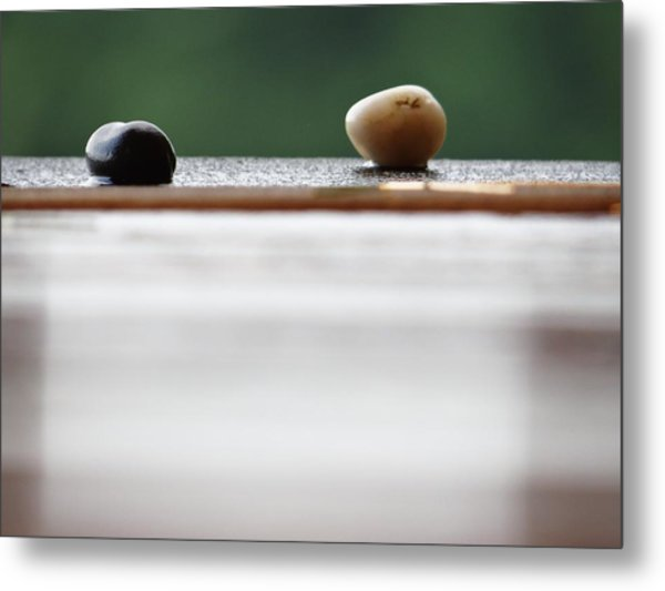 Just A Stones Throw Away Metal Print