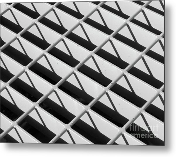 Just Another Grate Metal Print