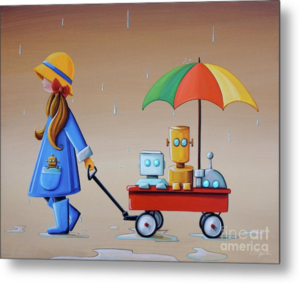 Just Another Rainy Day Metal Print