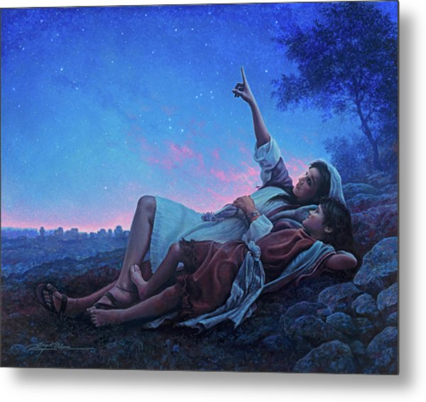 Metal Print featuring the painting Just For A Moment by Greg Olsen