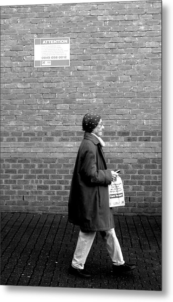 Just Going Nowhere Metal Print by Jez C Self