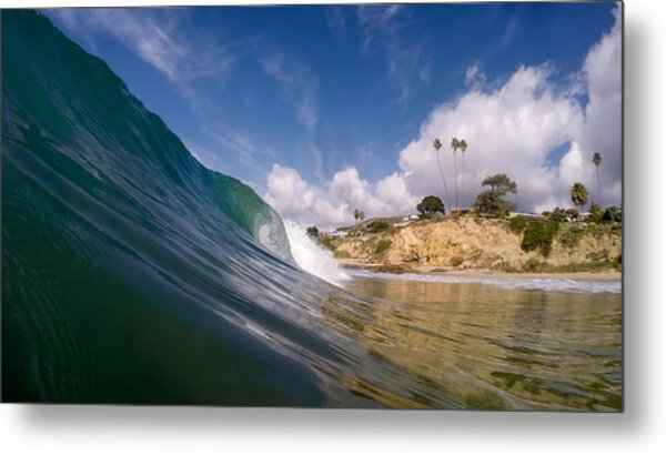 Just Me And The Waves Metal Print