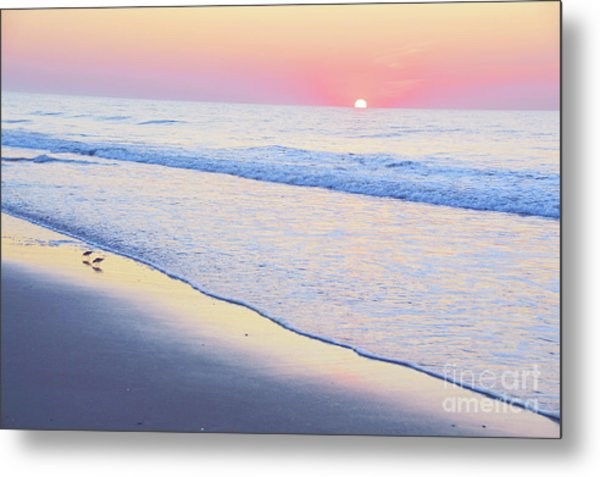 Just The Two Of Us - Jersey Shore Series Metal Print