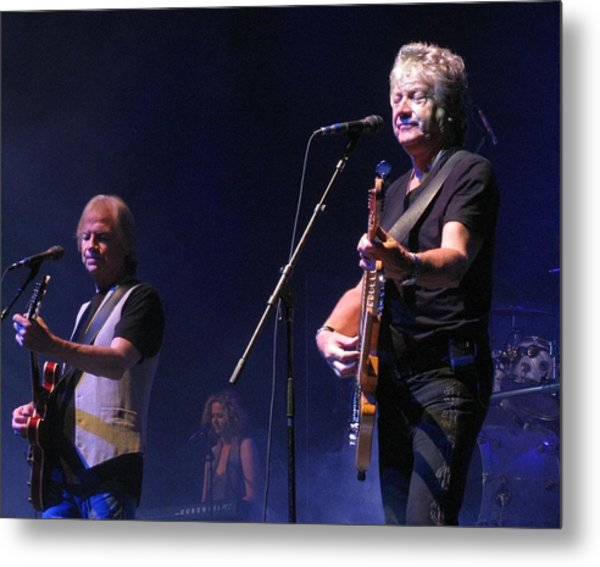 Justin And John Of The Moody Blues Metal Print