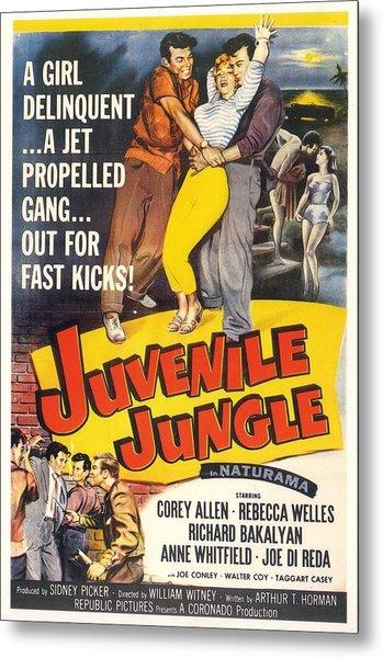 Juvenile Jungle Metal Print