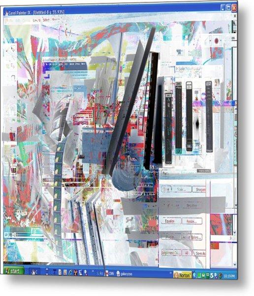 jvc Metal Print by Dave Kwinter