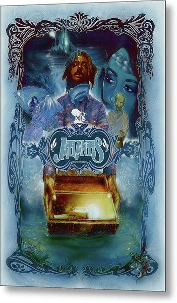K-os Atlantis Hymns For Disco Metal Print