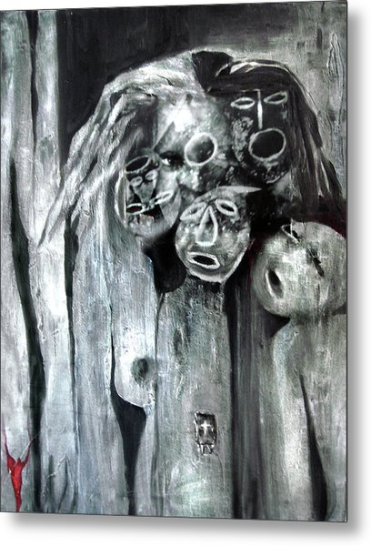 Ka - When The Root Women Speak Metal Print