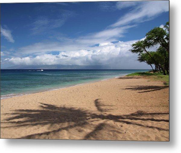 Ka'anapali Beach - Maui Metal Print