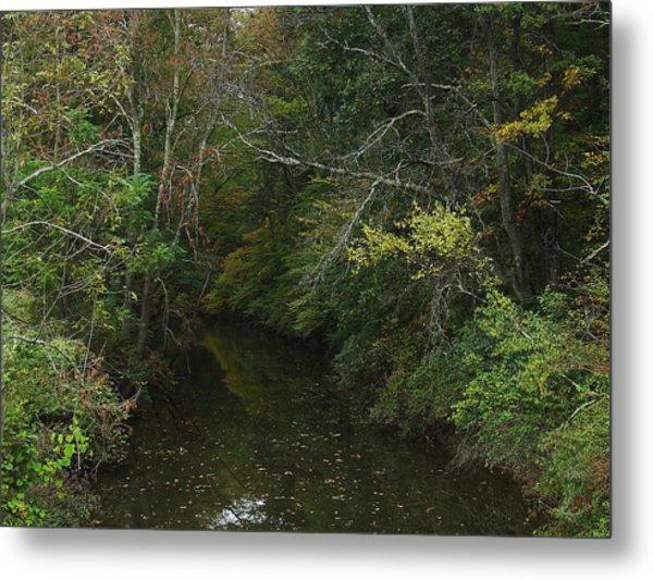 Kaaterskill Creek In Calm Metal Print