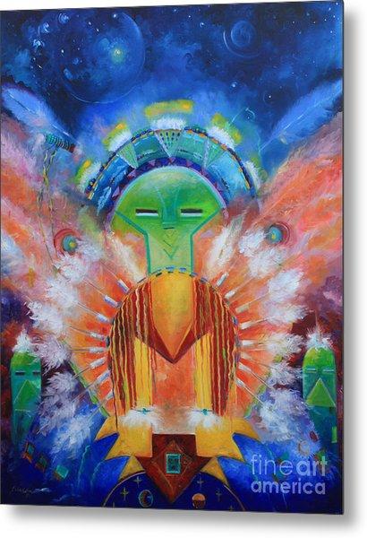 Kachina Spirit Metal Print by Gail Salitui