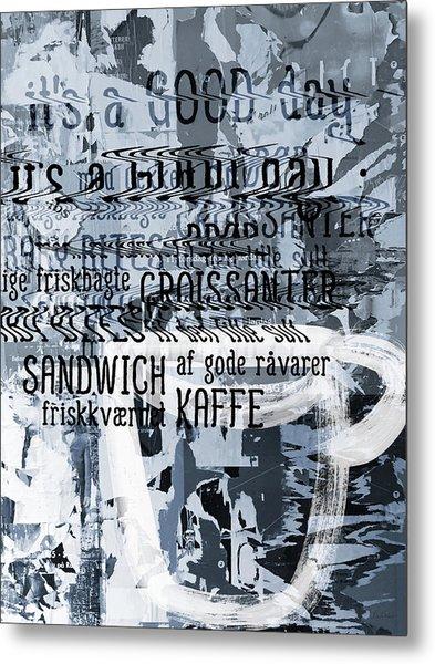 Kaffe 1- Art By Linda Woods Metal Print