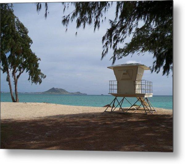 Kailua Beach Metal Print