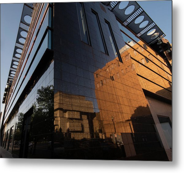 Kalamazoo Reflections Metal Print