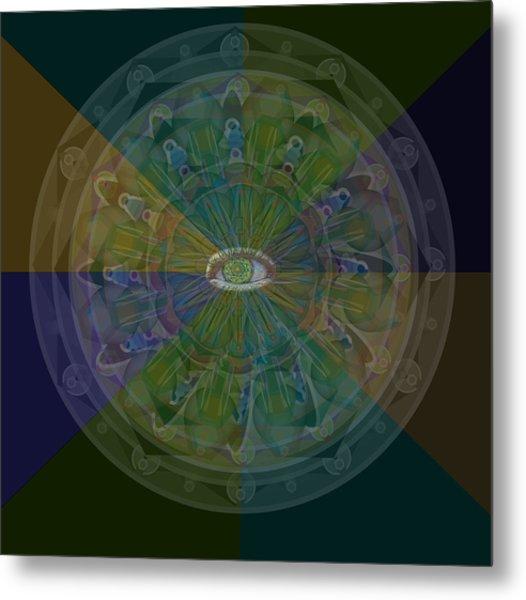 Kaleidoscope Eye Metal Print