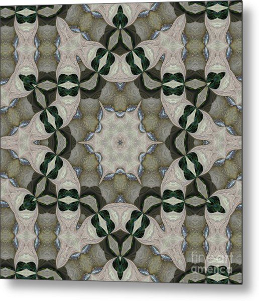 Kaleidoscope O Four Metal Print